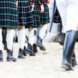 marche officiers anglais