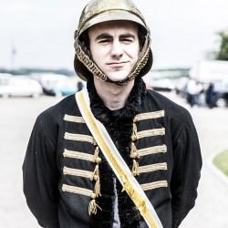 portrait officier anglais